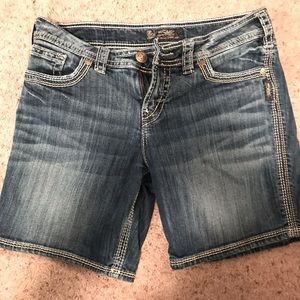 Silver brand women's shorts